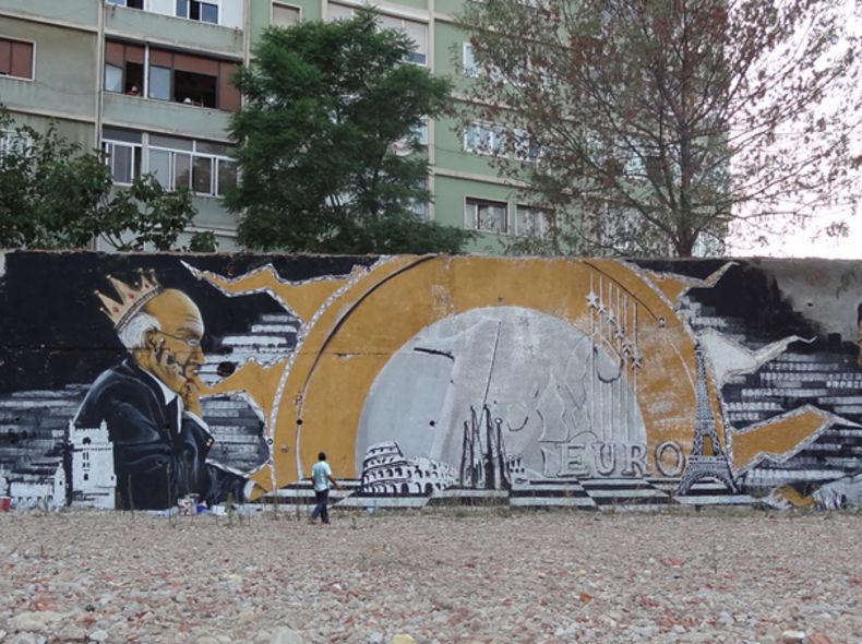 Mural in Lisbon,Portugal