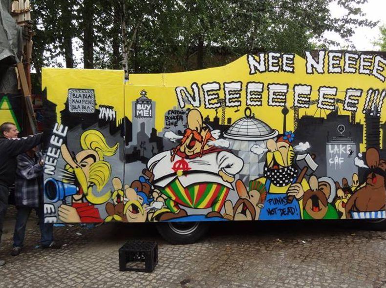 Captain Borderline/ Karneval der Kulturen/YAAM Berlin